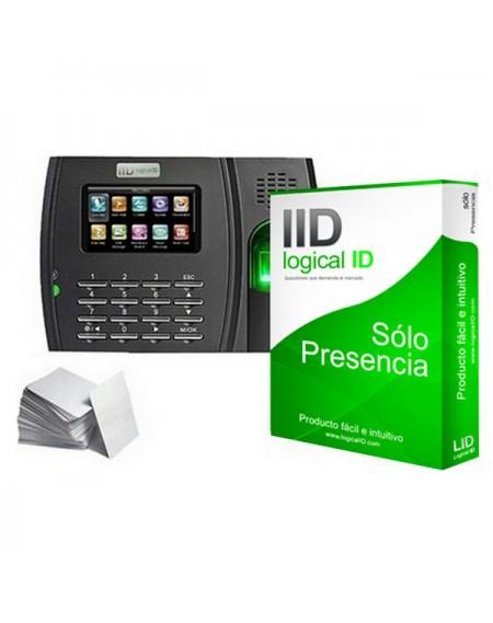 Système de Contrôle d'Accès Biométrique LID LID50 Noir (50 Licenses)