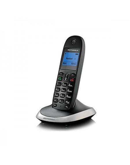 Téléphone Sans Fil Motorola C2001 DECT Noir