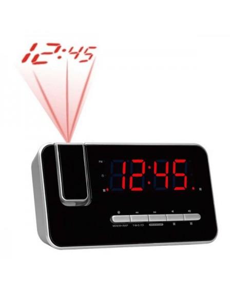 Radio-réveil Denver Electronics CRP-618 FM Noir