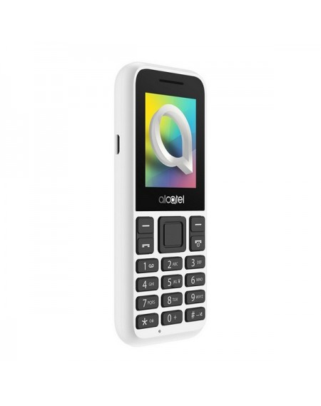 "Téléphone Portable ALCATEL 1066D-2BALES1 1,8"" QQVGA Bluetooth Blanc"