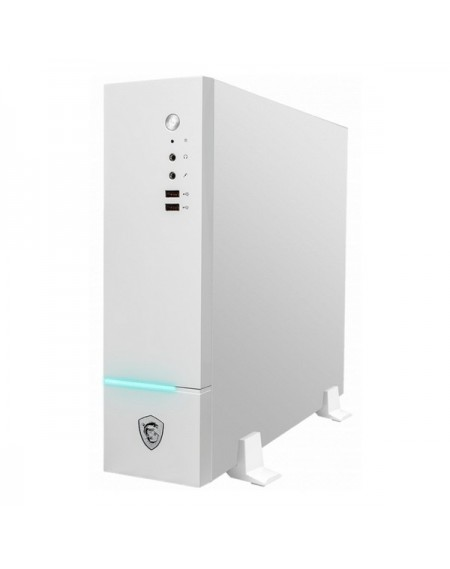 PC de bureau Gaming MSI PE130-021EU i5-8400 8 GB RAM 128 GB SSD + 1 TB W10 Blanc