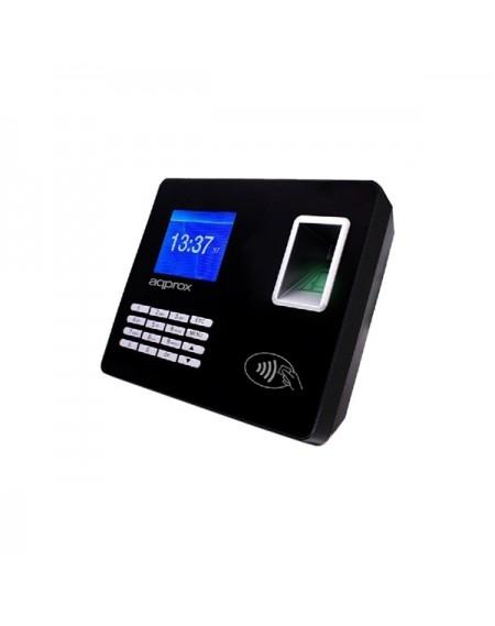 """Système de Contrôle d'Accès Biométrique approx! APPATTENDANCE02 2,8"""" TFT USB LAN Noir"""