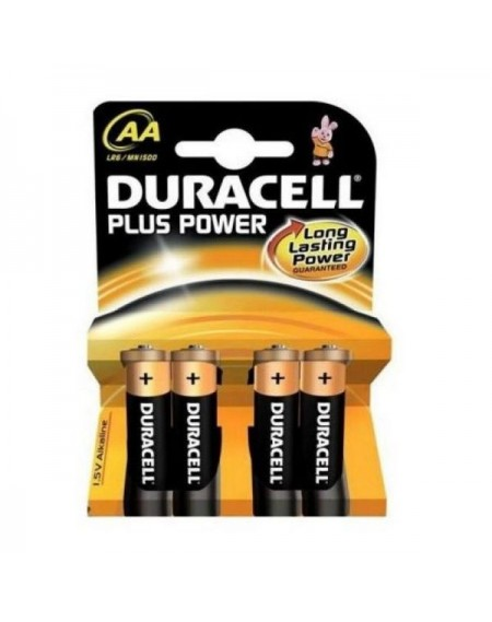 Piles Alcalines DURACELL DURLR6P4B