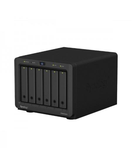 Stockage en Réseau NAS Synology DS620slim Celeron J3355 2 GB RAM Noir