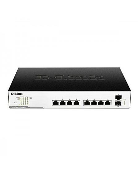 Commutateur Réseau Armoire D-Link Easy Smart DGS-1100-10MP 10 Puertos RJ45 20 Gbit/s