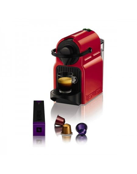Cafetière à capsules Krups XN1005 Inissia Nespresso 19 bar 0,7 L 1260W Rouge