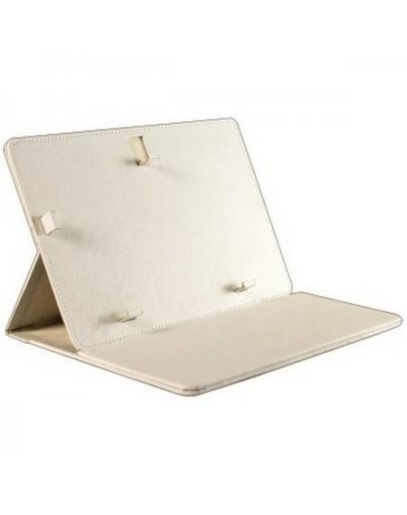 """Housse Universelle pour Tablette BRIGMTON BTAC-74 7"""" Blanc"""
