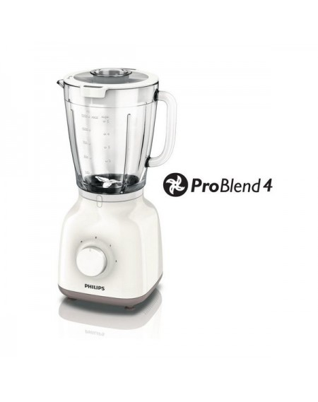 Bol mixeur Philips HR2105/00 Daily Collection 1,5 L 400W