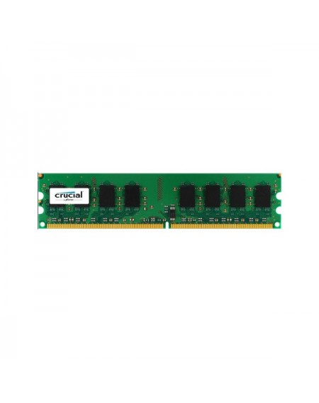 Mémoire RAM Crucial IMEMD20045 CT25664AA800 2GB 800 MHz DDR2 PC2-6400