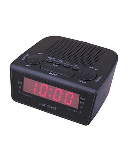 Radio-réveil Sunstech FRD18BK Noir
