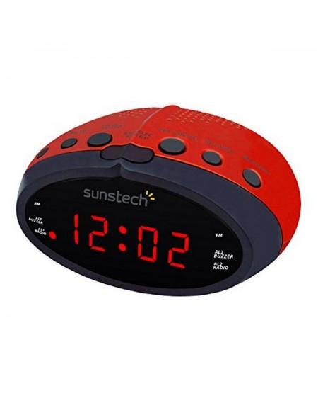 Radio-réveil Sunstech FRD16RD Rouge