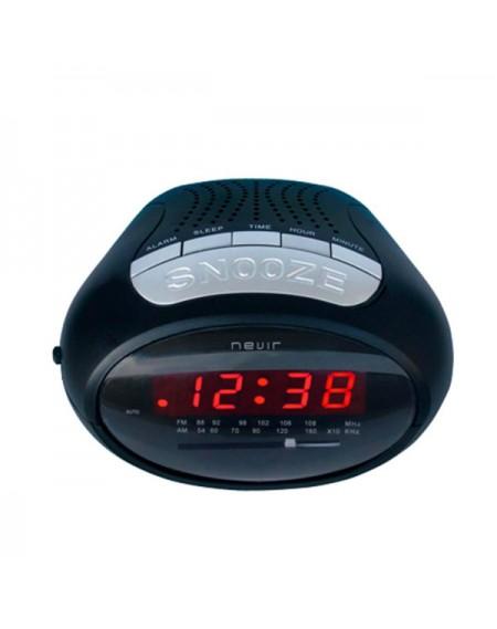 Radio-réveil NEVIR NVR-327 Noir