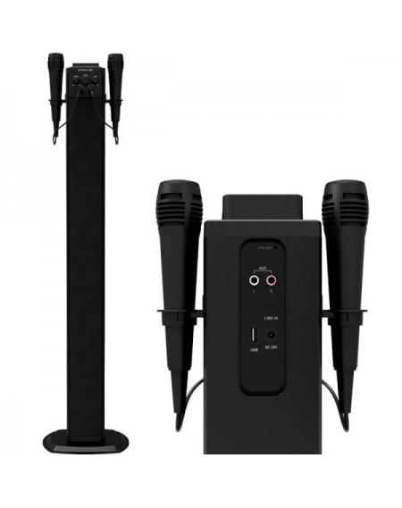 Tour sonore bluetooth BRIGMTON BTW-40K 40W USB Noir
