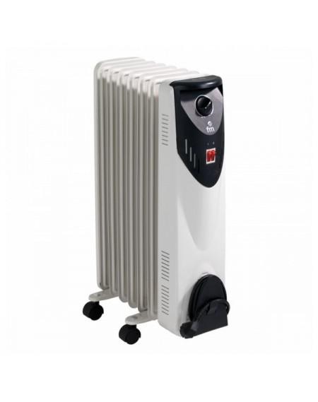 Radiateur à Huile (7 modules) Grupo FM RW-15 1500W Blanc