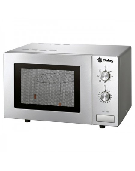 Micro-ondes avec Gril Balay 3WGX2018 18 L 800W Acier inoxydable
