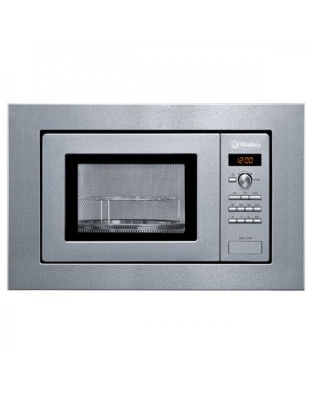 Micro-ondes intégrable avec grill Balay 3WGX1929P 18 L 800W Acier inoxydable