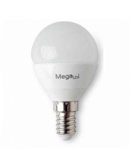 Ampoule LED Sphérique MegaLed GIG14E-P45 4,5W E14 2700K 380 lm Lumière chaude