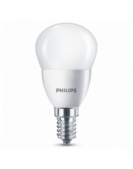 Ampoule LED Sphérique Philips 5,5W A+ 2700K 470 lm Lumière chaude