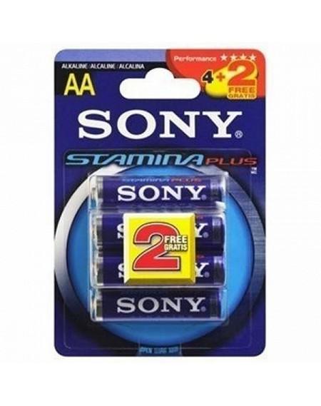 Pile Alcaline Sony 220512 1,5 V AAA Bleu
