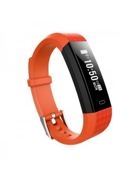 "Bracelet d'activités BRIGMTON BSPORT B1 0,87"" OLED Bluetooth 4.0 IP67 Orange"