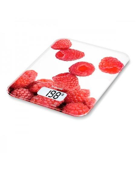 balance de cuisine numérique Beurer KS 19 berry 5 Kg Blanc Rouge