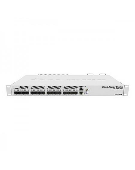 Commutateur Réseau Armoire Mikrotik CRS317-1G-16S+RM 16SFP 800 MHz L6 Blanc