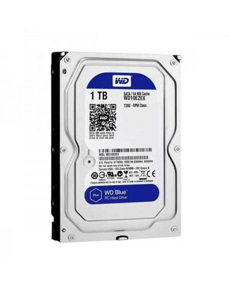 """Disque dur Western Digital Blue WD10EZEX 3.5"""" 1 TB Sata III 7200 rpm Buffer 64 MB"""