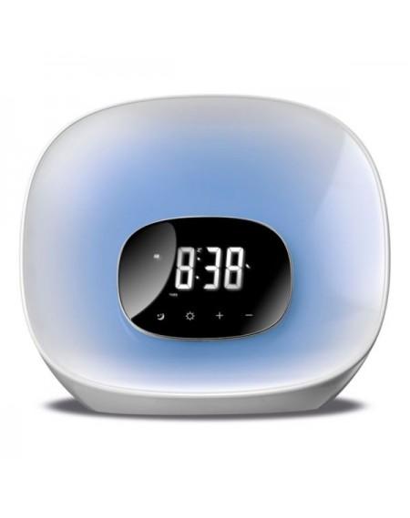 Radio-réveil Daewoo DCR-470 LED Blanc