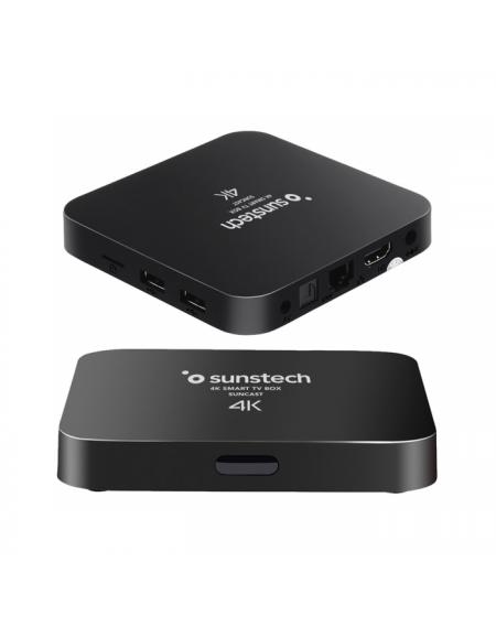 Lecteur TV Android Sunstech 8 GB WiFi Noir