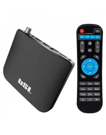 Lecteur TV Android BSL ABSL-216DVBTS 8 GB WiFi Noir