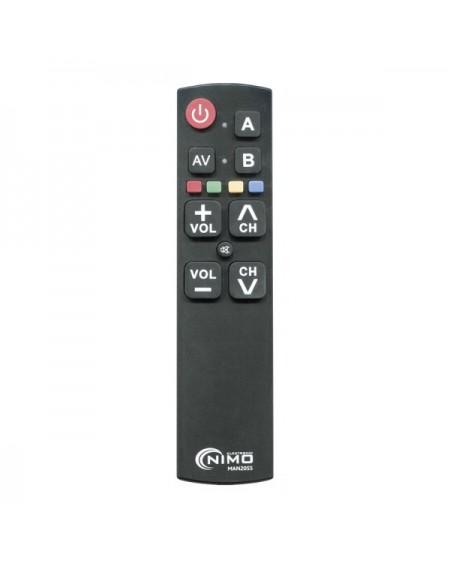 Télécommande Universelle NIMO MAN2055 Noir
