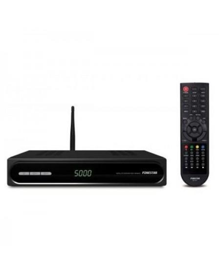 Récepteur Satellite FONESTAR RDS-584WHD USB 2.0 Wifi / Ethernet Noir
