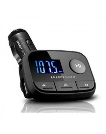 Lecteur MP3 pour Voiture Energy Sistem 384600 FM LCD SD / SD-HC (32 GB) USB Noir
