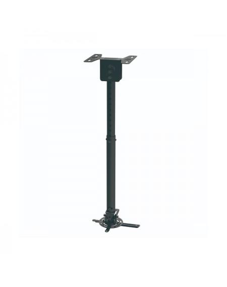 Support de Toit Inclinable et Rotatif pour Projecteur TooQ PJ3030TN-B 20kg 57,5 - 82,5 cm -20º/+20º 360º Noir