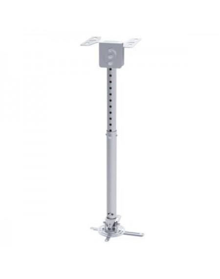 Support de Toit Inclinable et Rotatif pour Projecteur TooQ PJ3030TN –S 20kg 57,5 - 82,5 cm -20º/+20º 360º Argent