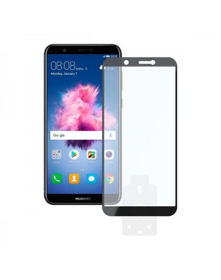 Film Protecteur en Verre Trempé pour Téléphone Portable Huawei P Smart 2.5D Noir