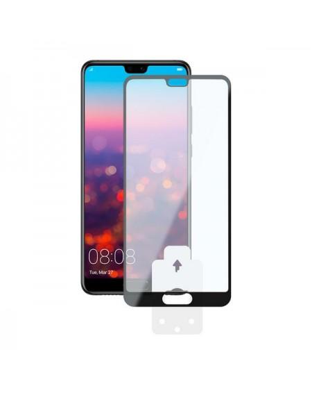 Film Protecteur en Verre Trempé pour Téléphone Portable Huawei P20 2.5D Noir