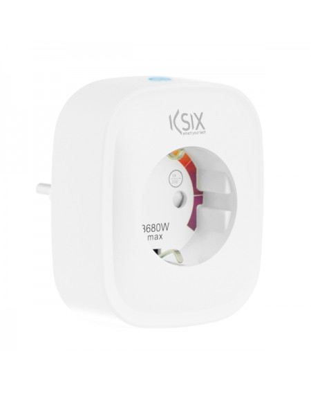 Prise Intelligente Smart Energy Slim WIFI 250V Blanc