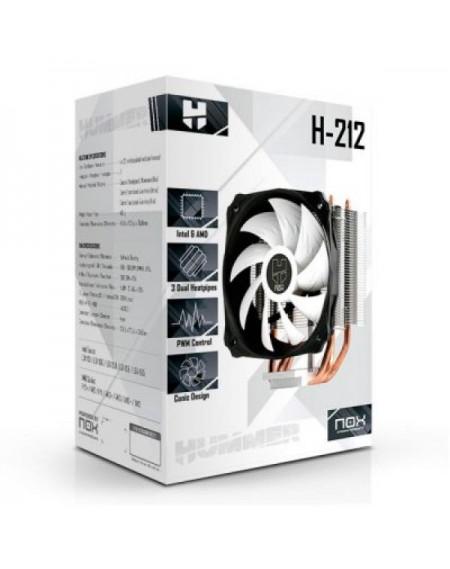 Ventilateur et dissipateur de chaleur NOX Hummer H-212 8-20 dBa