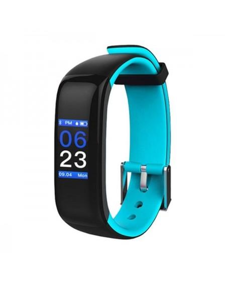 "Bracelet d'activités BRIGMTON BSPORT-15-A 0,96"" OLED 150 mAh Bluetooth 4.0 Bleu"
