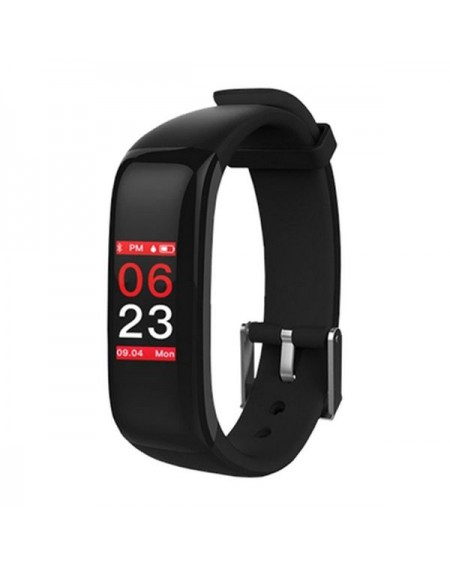 "Bracelet d'activités BRIGMTON BSPORT-15-N 0,96"" OLED 150 mAh Bluetooth 4.0 Noir"