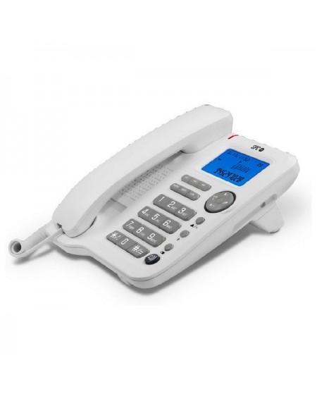 Téléphone fixe SPC 3608B LCD Blanc