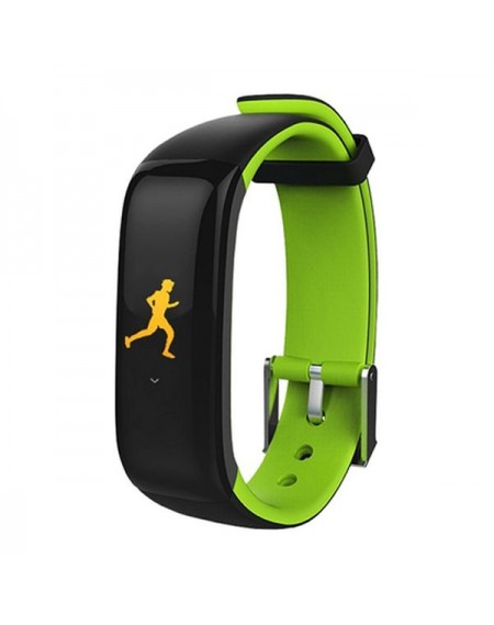 "Bracelet d'activités BRIGMTON BSPORT-15-V 0,96"" OLED 150 mAh Bluetooth 4.0 Vert"