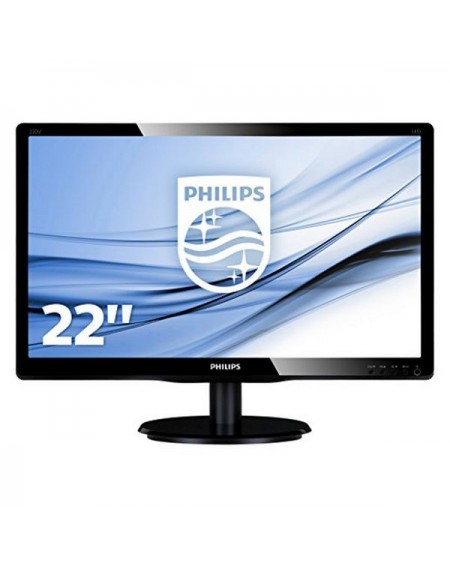 "Philips 223V5LSB2 Moniteur 21.5"" Led 16:9 5ms Slim"