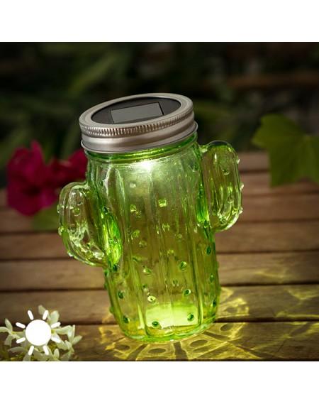 Lampe Solaire Cactus (1 LED)
