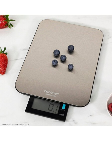 balance de cuisine numérique Cecotec Cook Control 9000 Waterproof Acier inoxydable