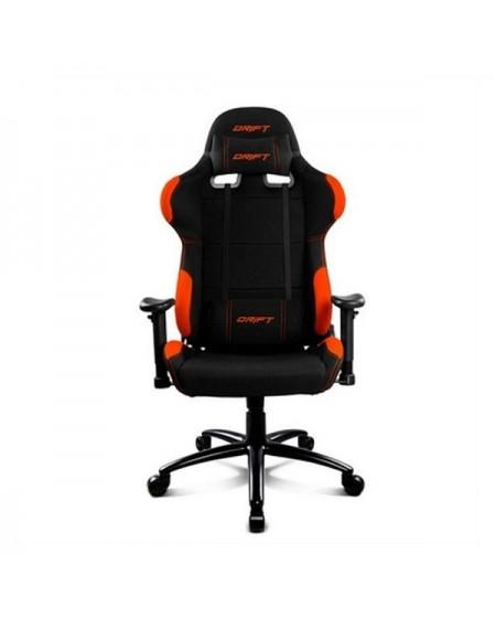 Chaise de jeu DRIFT DR100BO Noir Orange