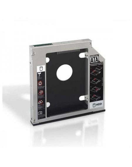 """Adaptateur Métallique pour 2 Disques Durs (3,5""""/8,89 cm) NANOCABLE 10.99.0102"""