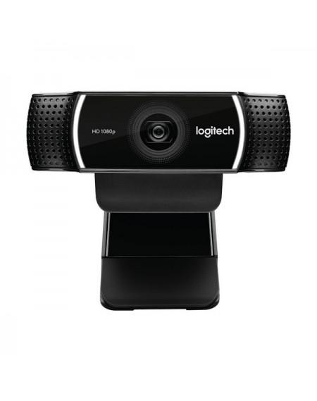 Webcam Logitech C922 HD 1080p Streaming Tripod Noir