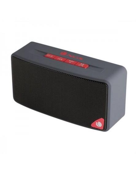 Haut-parleurs bluetooth NGS ROLLERJOYGRAY 3W FM SD USB Rouge Gris